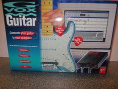 GVOX Guitar Computer Connector Processor Composition Recording Software GVX70451 #GvoxGuitar