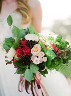 View entire slideshow: Vibrant Australian Bouquets on http://www.stylemepretty.com/collection/1666/