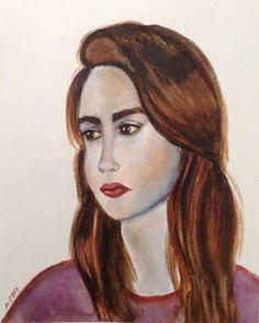 "Saatchi Art Artist Mar Ruiz Bilbao Art; Painting, ""Silent eyes"" #art"