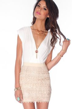 Macrame Eye Combo Dress $35#Repin By:Pinterest++ for iPad#