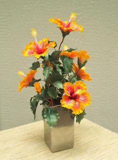 Full bouquet of sugar hibiscus'