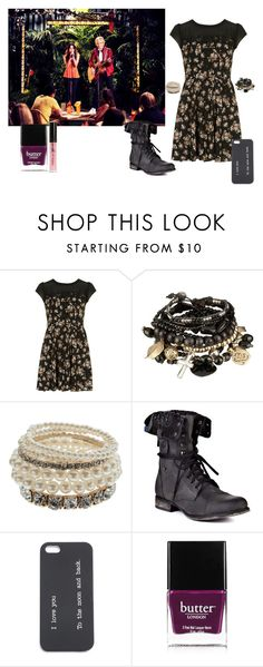 """""""If I Was In Austin & Ally #24"""" by mysterygirl1999 ❤ liked on Polyvore featuring Dorothy Perkins, Accessorize, Steve Madden, Butter London, River Island, RossLynch, lauramarano, calumworthy and RainiRodriguez"""