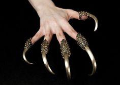 Predator Rings 5piece set von DanielleNicoleMetals auf Etsy, $900,00