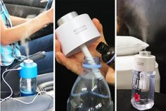 Portable Humidifier - Fits Most Water Bottles