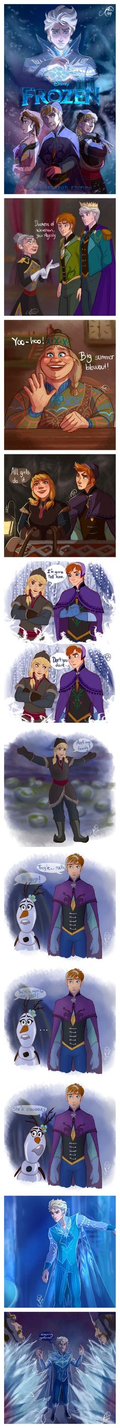 Holy floop the last bit wasn't in te movie it was in the original story board woah- elsa and anna frozen gender swap Disney Pixar, Walt Disney, Cute Disney, Disney And Dreamworks, Disney Magic, Disney Frozen, Disney Art, Funny Disney, Anna Frozen