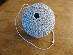 1000 Facet Spherical Covering Knot - 3 Passes