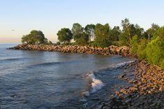 Scarborough Bluff Trails Toronto Scarborough Bluffs, West Village, Top Ten, Cn Tower, Trekking, Ontario, Trail, Sky, River