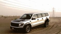 Ford Raptor 6 doors - Only in The United Arab Emirates, Abu Dhabi ...