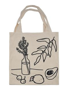 Tods Bag, Mango Avocado Salsa, Will Turner, Cotton Tote Bags, Reusable Tote Bags, Painted Bags, Diy Tote Bag, Cloth Bags, Canvas Tote Bags