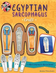 Great Activity To Accompany Ancient Egyptian Studies Have Fun Putting Together A Foldable Sarcophagus
