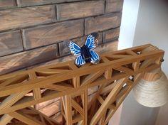 Mini papillon in legno