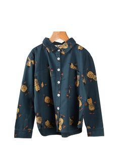 Bobo Choses Shirt Allover Peanuts | SALE - Now 30% OFF | www.littlesahou.com