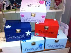Wooden Keepsake box by CraftyCrockery Wooden Keepsake Box, Keepsake Boxes, Kids Room, Container, Crafty, Food, Boxes, Room Kids, Child Room