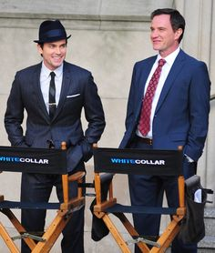 White Collar. Favourite show at the moment. :) <-- At the moment? Season 3 was better, I'll warn.