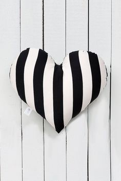 Love this Black and white pillow | Coronary heart cushion | coronary heart form pillow | teen throw pillow | black and white child decor | woman's room decor