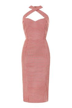 Penny Picnic Gingham Pencil Dress 0