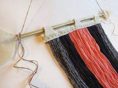 Wall Hanging Wooden Arrow Hand painted by SylviaRoseMakesThose