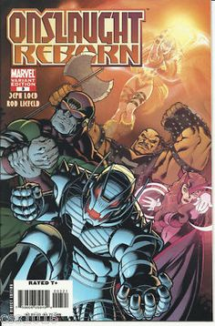 ONSLAUGHT REBORN #3 Great 1/10 VARIANT by Ed McGuinness! ~NM~ http://r.ebay.com/6dIU6Q