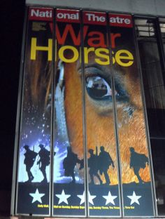 Why You Should See War Horse When You Visit London - http://www.europealacarte.co.uk/blog/2014/03/06/why-you-should-see-war-horse-when-you-visit-london/