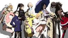 Occultic Nine Characters Anime Wallpaper