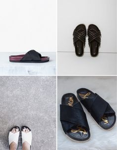 Style   Trending : Birkenstocks and criss-cross sandals - French By Design