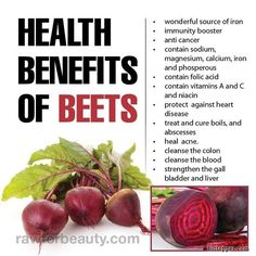#Beets help to support the #liver and #gallbladder, influencing fat metabolism via www.bittopper.com/post.php?id=40984518352869a215311b2.25926197