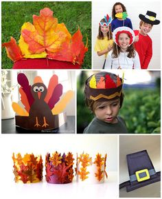 8 Creative DIY Thanksgiving Hats for Kids