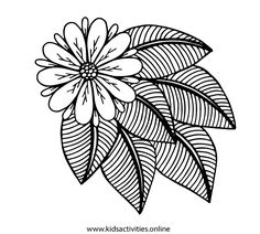 Spring Flowers Coloring Pages For Adults Printable ⋆ Kids Activities Teddy Bear Coloring Pages, Rose Coloring Pages, Skull Coloring Pages, Fish Coloring Page, Spring Coloring Pages, Adult Coloring Book Pages, Printable Adult Coloring Pages, Doodle Coloring, Mandala Coloring Pages