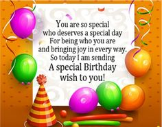 99 Best Birthday Greeting Messages and Quotes - Quotes Yard Special Birthday Wishes, Free Birthday Card, Birthday Wishes For Brother, Happy Birthday Wishes Images, Happy Birthday Greetings, 123 Greetings, Birthday Greeting Message, Birthday Message For Boyfriend, Birthday Messages