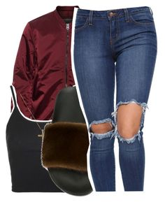 """6/30/16"" by lookatimani ❤ liked on Polyvore featuring Acne Studios, Topshop and Givenchy"