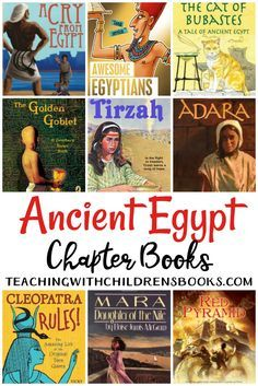 15 Ancient Egypt Chapter Books for Older Readers - Looking for some great books about Ancient Egypt? Check out this living books list that is full of - Ancient Egypt Books, Ancient Egypt Lessons, Ancient Egypt For Kids, Ancient History, Ancient Greece, European History, Ancient Artifacts, Ancient Aliens, Art History