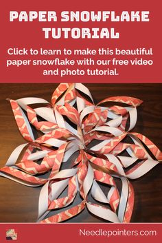 Craft Projects For Kids, Paper Crafts For Kids, Diy Paper, Free Paper, Paper Art, 3d Paper Snowflakes, Snowflake Craft, Snowflake Maker, Christmas Origami