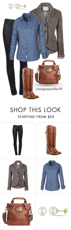 """Blazer"" by vintagesparkles78 ❤ liked on Polyvore featuring J Brand, Frye, Jack Wills, Fat Face and Miadora"