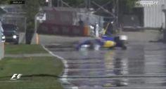 Crash Nasr Fp3 6-6-2015 Canada