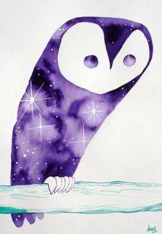 'Cosmic Owl 1' by Matt Sewell