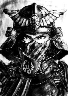 female samuri warrior