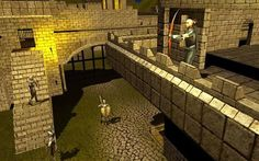 Help local villager to escape from dark castle dungeon.