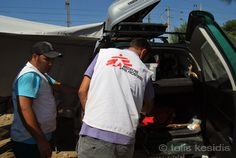 Greek northern borders, 26August 2015 Refugees still trapped in the Greek northern borders, near the site of Eidomeni. Republic of …