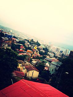 """Vista desde """"La Sebastiana"""", casa de Pablo Neruda en Valparaíso"""