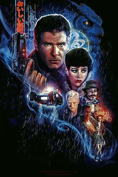 Blade Runner by Blake Armstrong - Home of the Alternative Movie Poster -AMP- Blade Runner Poster, Blade Runner Art, Blade Runner Wallpaper, Action Movie Poster, Classic Horror Movies, Film Inspiration, Ex Machina, Alternative Movie Posters, Fantasy Movies