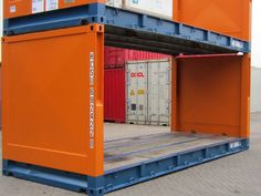 20ft flatrack Garage Doors, Container, Ship, Dutch, Outdoor Decor, House, Home Decor, Shipping Containers, Decoration Home