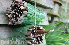 Simple Bug Hotel - provides space for lots of creepy crawlies