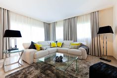 Living Room designed by Knox Design in Apartment Santa Ponsa