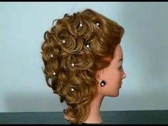 Evening hairstyle for medium hair. Hairstyle for Medium Long hair - YouTube