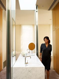 Bathroom at Clara, featuring our lifestyle collaborator, Jodhi Meares.