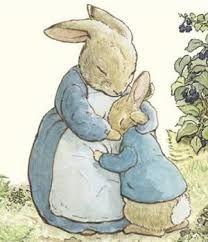 Resultado de imagen para peter rabbit paint vintage