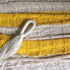 Beautiful Custom Hammock made with thick cotton thread