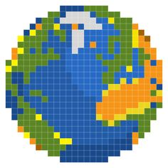 Pixelated: Happy Earth Day!