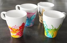 DIY Watercolor Mug Kit at The With Love Shop Shop: DIY gifts from the kids | Cool Mom Picks Holiday Gift Guide 2016