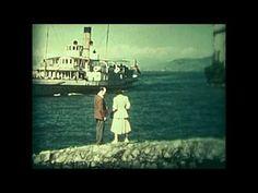MONTREUX SWISS RIVIERA 1950's 12 MINS COLOUR SOUND SUPERB COND
